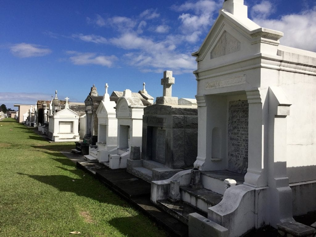 New Orleans must see and do cemetery