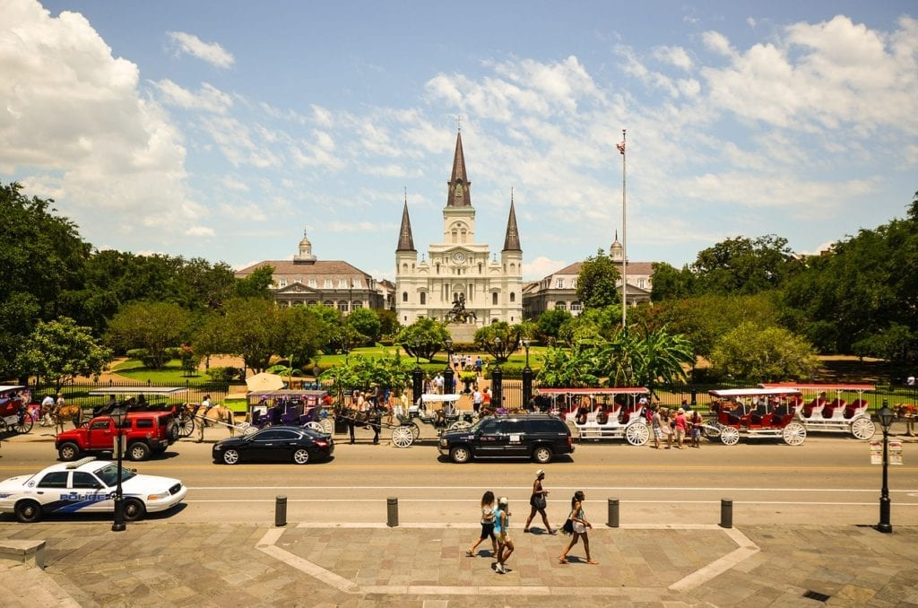 3 days in New Orleans looking at to Saint Louis cathedral