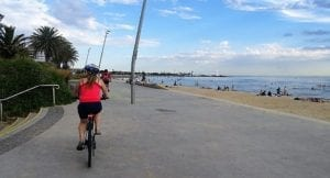Read more about the article Melbourne bike ride along the Bay – Cruising Beach Rd.