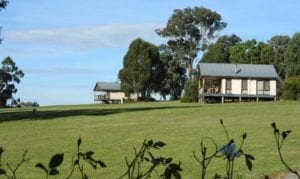 Read more about the article Yering Gorge Cottages- Views, Roos and a Spa Bath.
